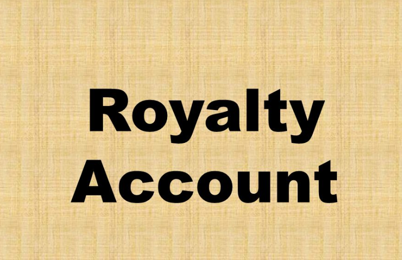 royalty account